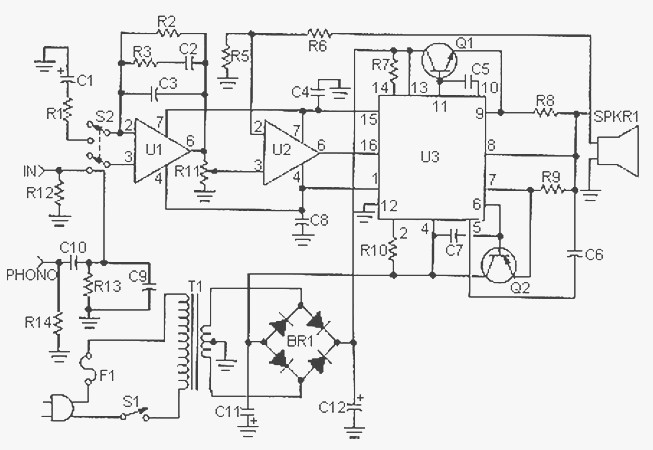 mp3 player circuit crazyengineers