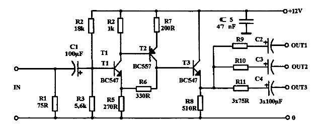home audio distribution diagram