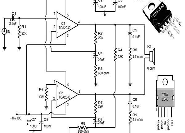 1500 watt rf amplifier circuit