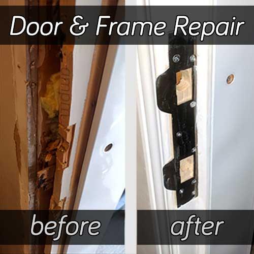 Door Frame Repair Ottawa On | Broken Wood, Steel, Aluminum | 24Hr