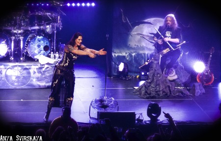 Nightwish And Delain Wow The Bomb Factory!! - Dallas, TX