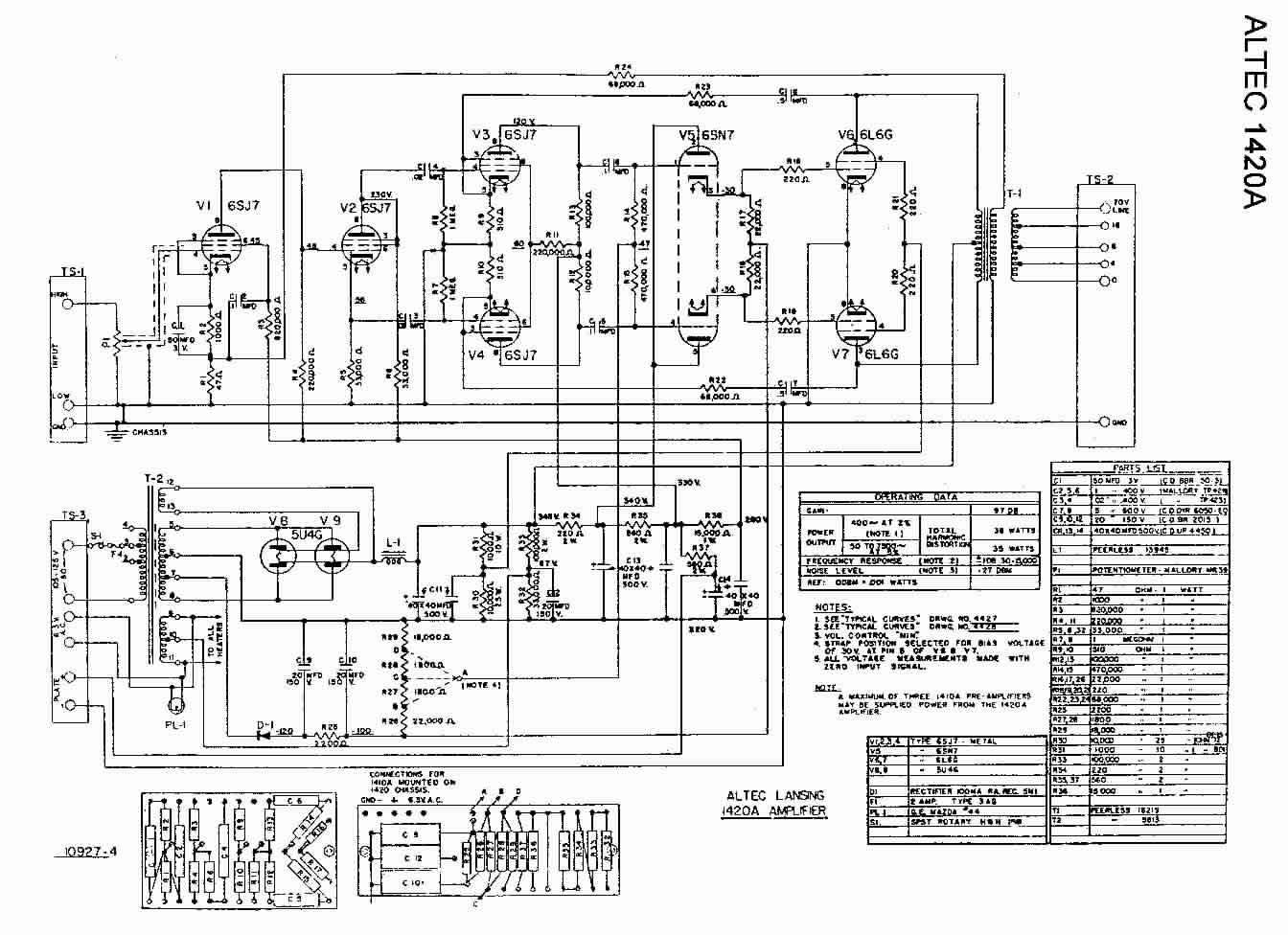 wiring diagram altec ta6
