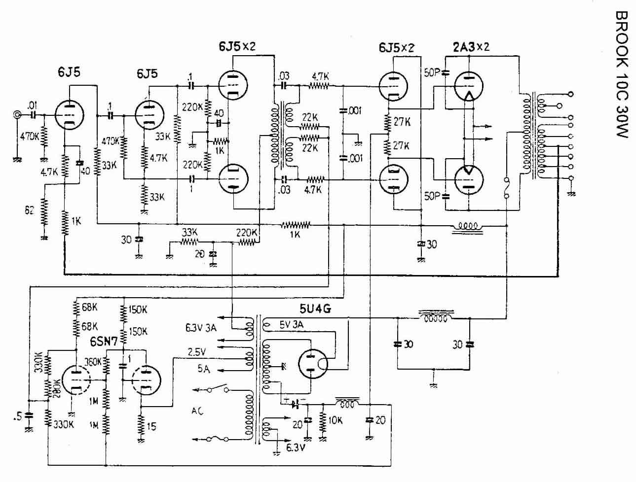 power amplifier schematics