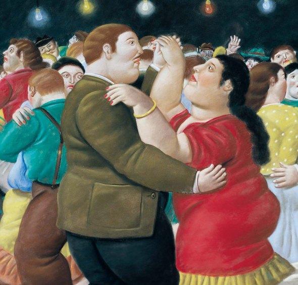 Fernando-Botero-Painting