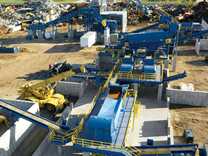 Ferrous Scrap Metal Shredding Systems Hammermills