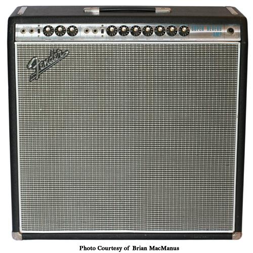 Fender Silverface Super Reverb \u2013 Ampwares