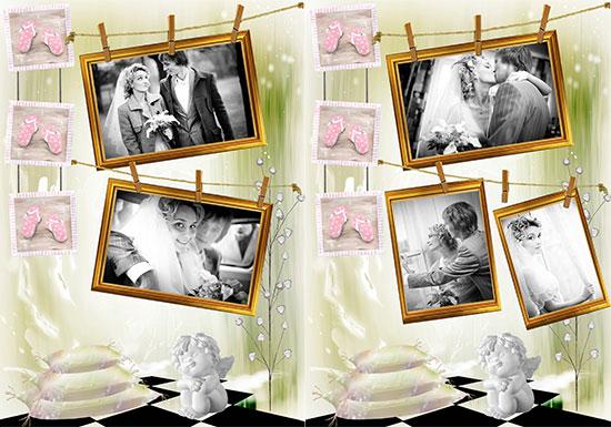 Photo Collage Templates 350+ Gorgeous Designs