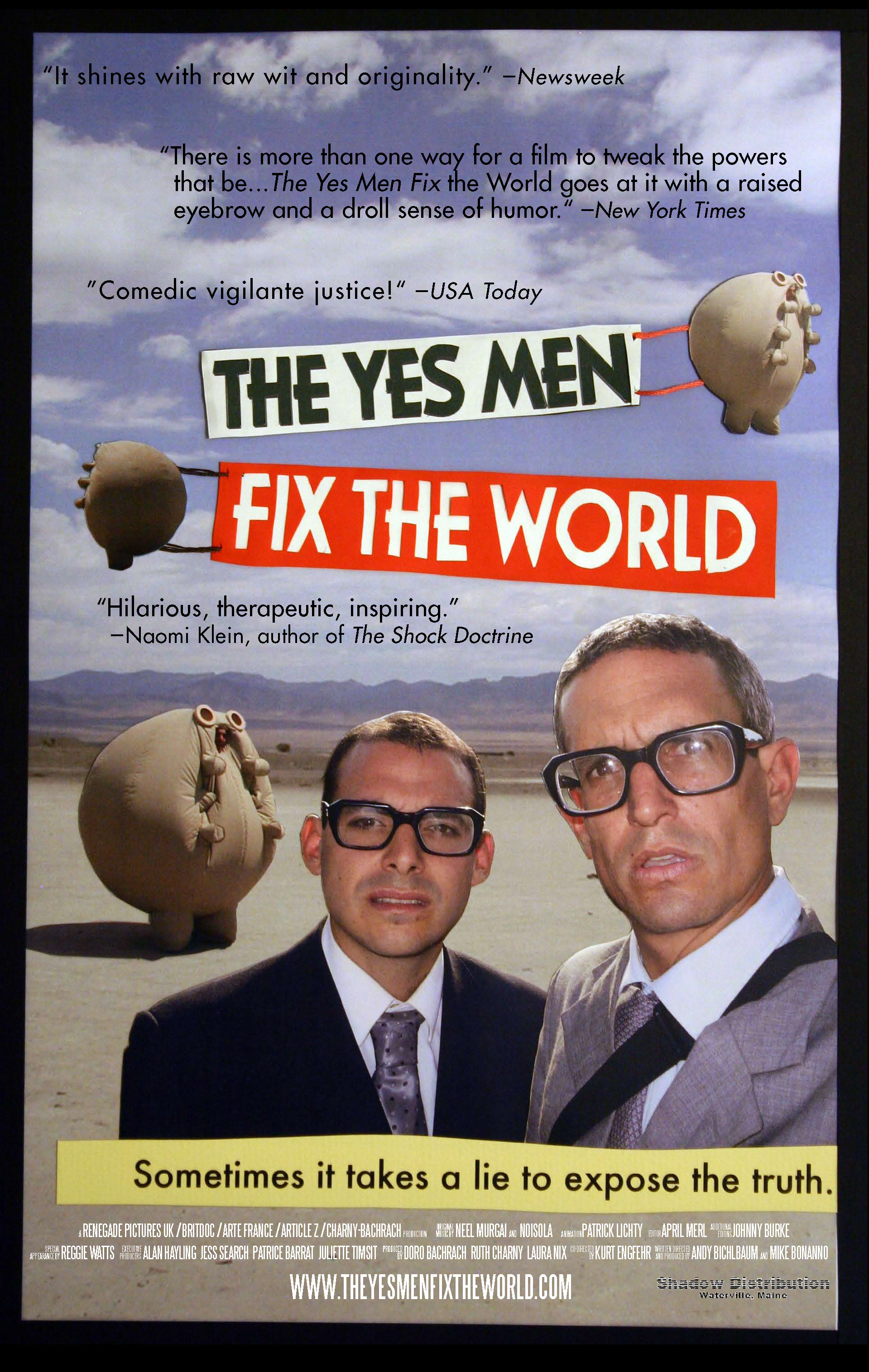 Arte France Journal On Teaching With Dawson Barrett The Yes Men Fix The Future