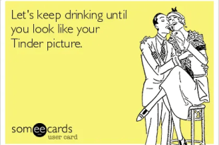 Tinder profile pic truths