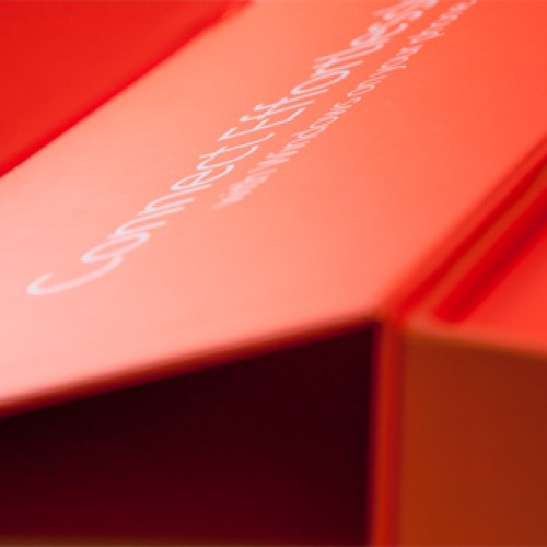 Luxurious presentation box packaging