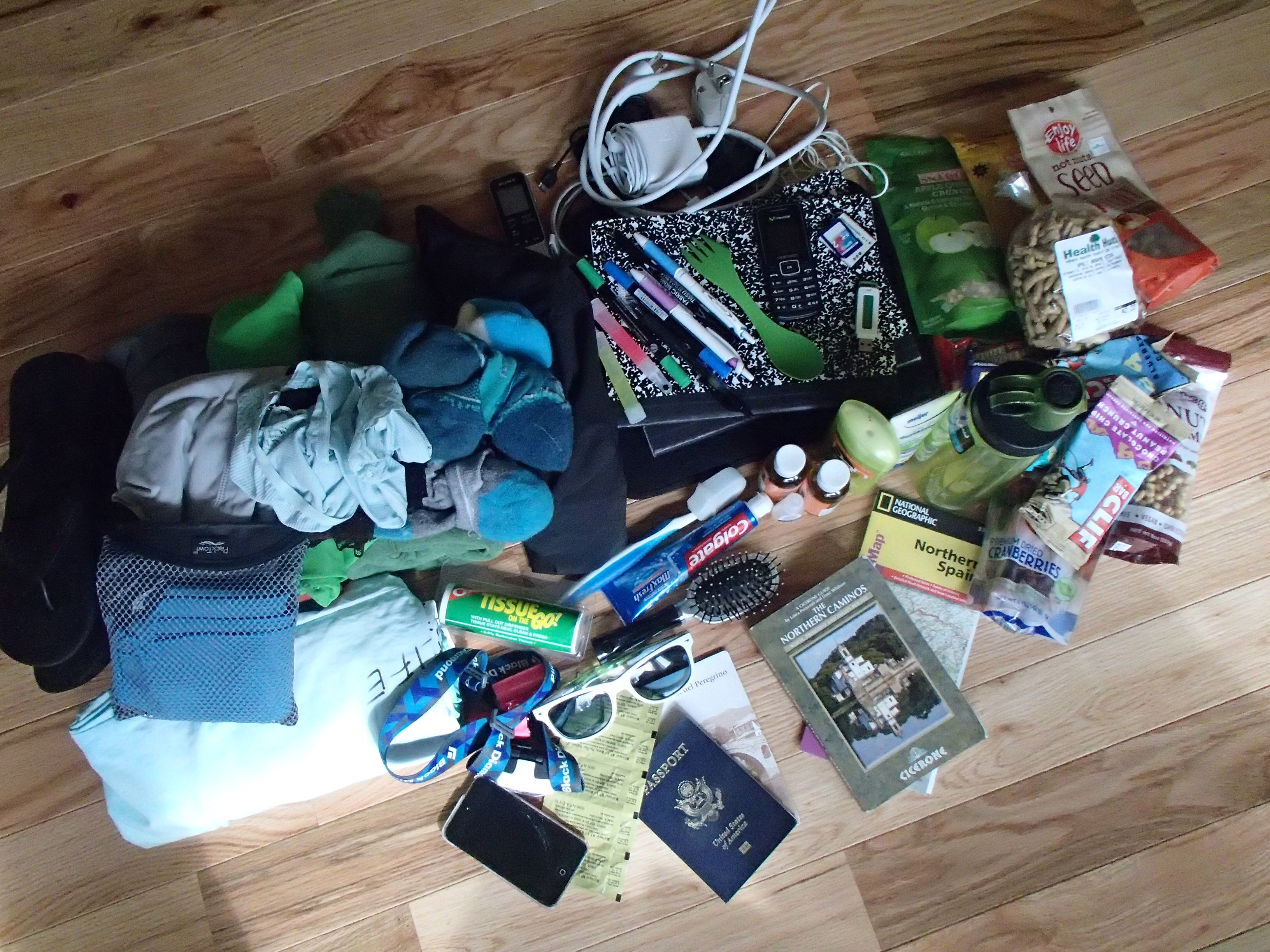 Camino Santiago Packing List Departing For Spain And El Camino De Santiago Tomorrow
