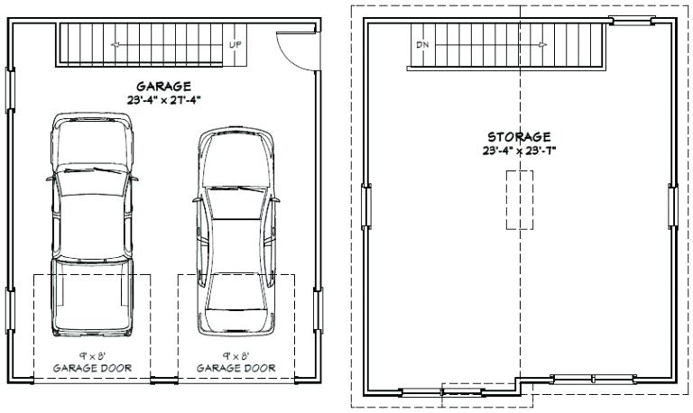2 Car Garage Dimensions Standard 2 Car Garage Dimensions | Amulette