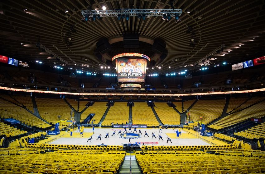 Oracle Arena 3d Seating amulette