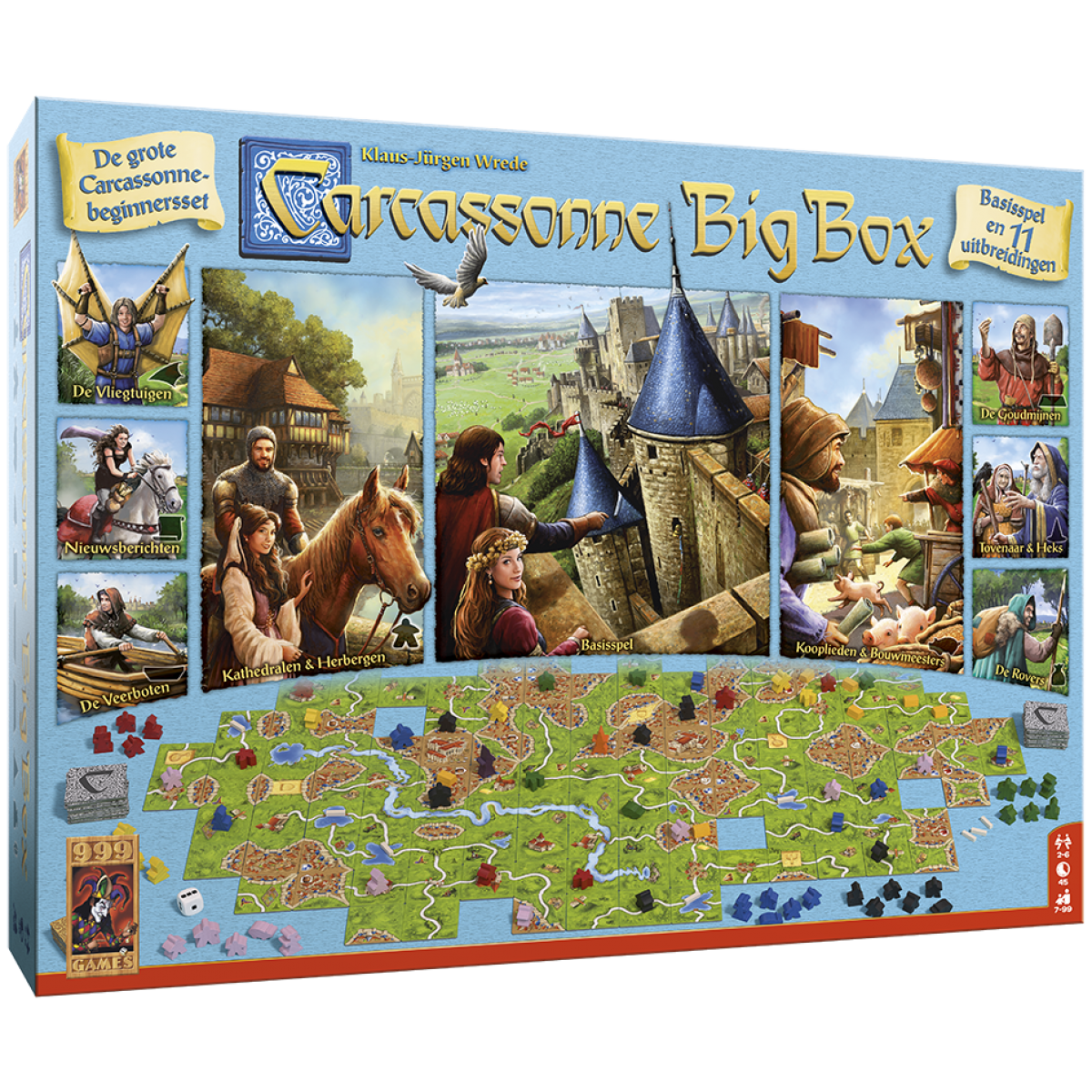 Carcassonne Kopen Carcassonne Big Box 3