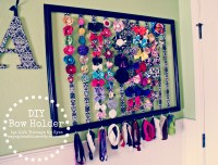 DIY Bow Holder | Life Through My Eyes