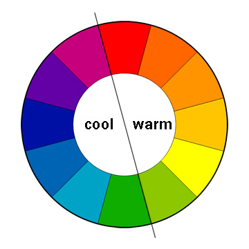 Creating Punch Mixing Warm and Cool Colors  - Amykranecolor