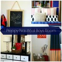Preppy Nautical Boys Room