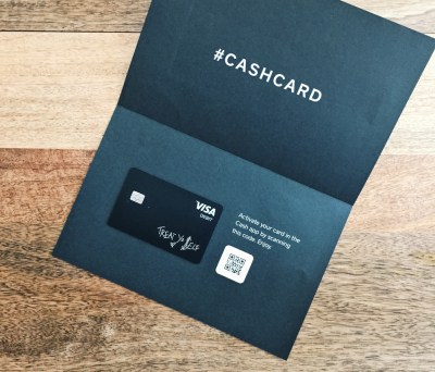 A Sneak Peek Into The Unreleased #CASHCARD By Square Cash | Amy Marietta
