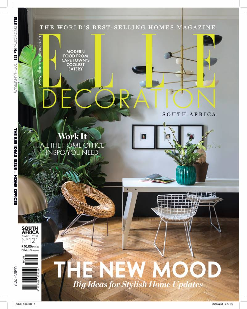 Elle Decoration South Africa Elle Decor South Africa March 2018 Art Basel Feature