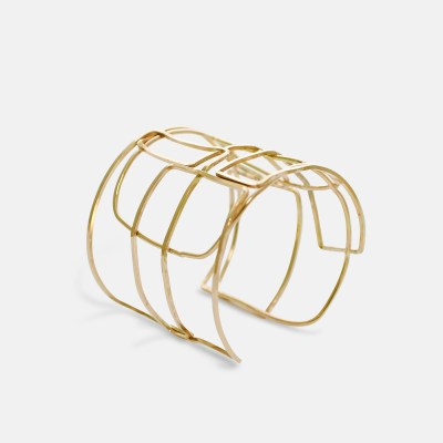 Gold Eleanor Cuff