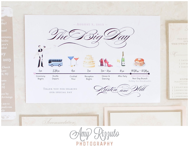 THE WEDDING DAY TIMELINE - Amy Rizzuto PhotographyAmy Rizzuto - wedding timeline