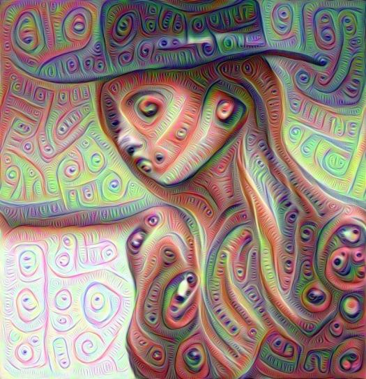 deep dream, deepdream, AI, neural nets, deep learning, Instagram, Google Research, AI, model, Lily Aldridge