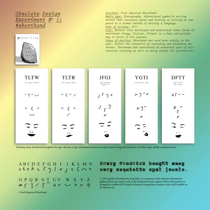 Obsolete Design Manifesto Amy Suo Wu