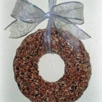 Make a Birdseed Wreath
