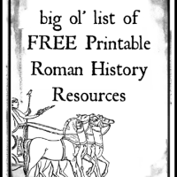 Roman History Printable Resources