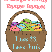 Large Family Easter Baskets
