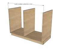 Kitchen Base Cabinets 101 | Ana White