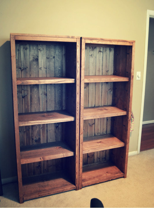 Ana White Kentwood Bookcases Diy Projects