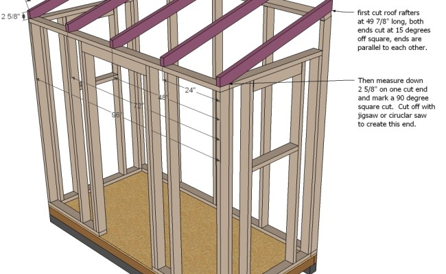 ^ How to build a mono pitch shed roof, my shed plans elite free ...