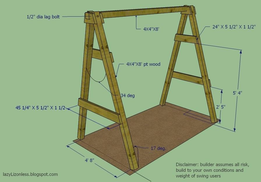 Cedar Wood Slab Swing Wood swing, Wood slab and Cedar wood - fresh blueprint for building a bench