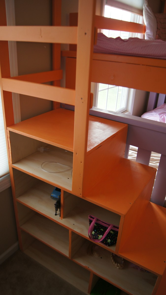 Building A Bunk Bed With Stairs Kay La Triple Bunk Bed Plans Pdf