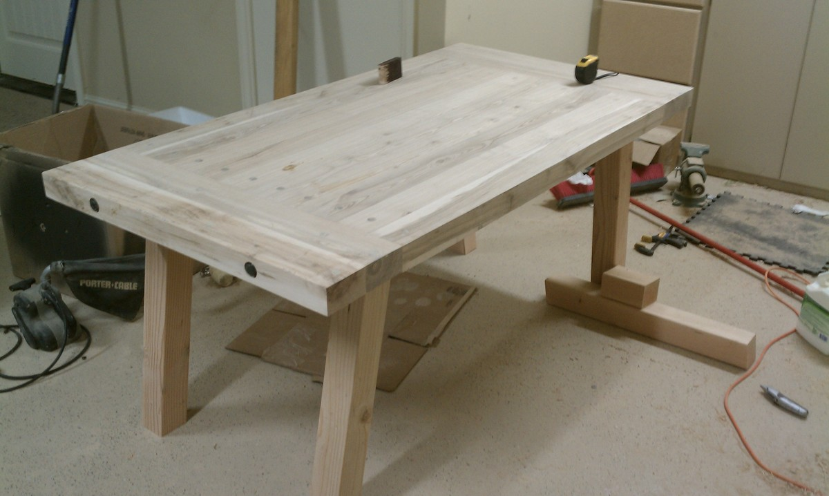 Building A Dining Room Table With Leaves Ana White Pottery Barn Benchwright Farmhouse Dining