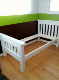 Diy Twin Bed Frame Ana White | www.imgkid.com - The Image ...