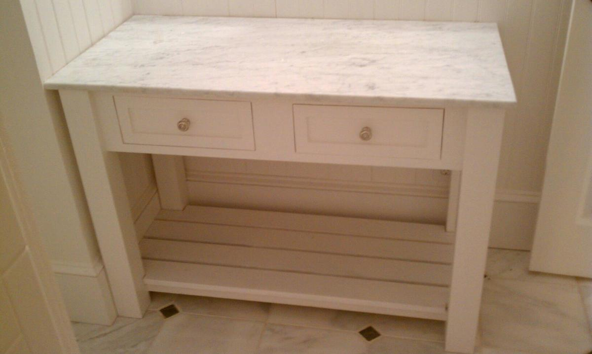 How To Make A Bathroom Vanity Cabinet Ana White Bathroom Vanity Diy Projects