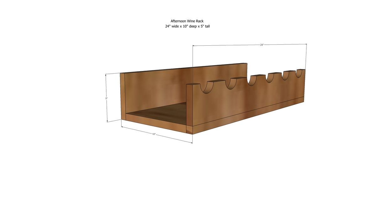 Diy Wine Cabinet Plans Ana White Afternoon Wine Rack Diy Projects