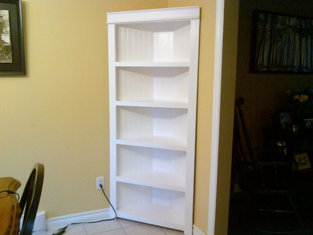 How To Build A Corner Kitchen Cabinet Ana White Corner Shelf Diy Projects