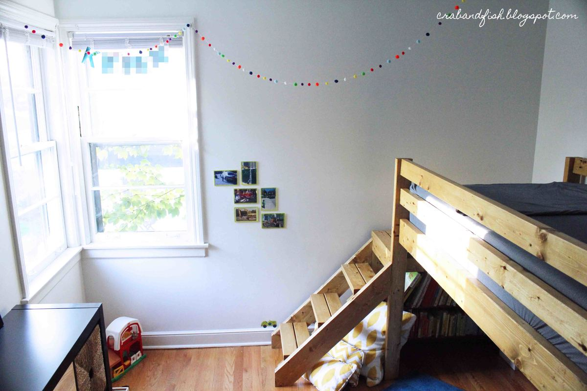 Big Loft Ana White Big Boy Toddler Loft Bed Diy Projects