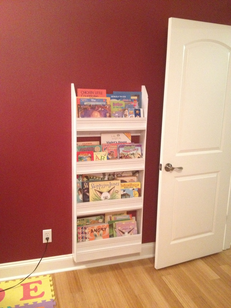 Wall Book Racks Ana White Flat Wall Book Shelves Diy Projects