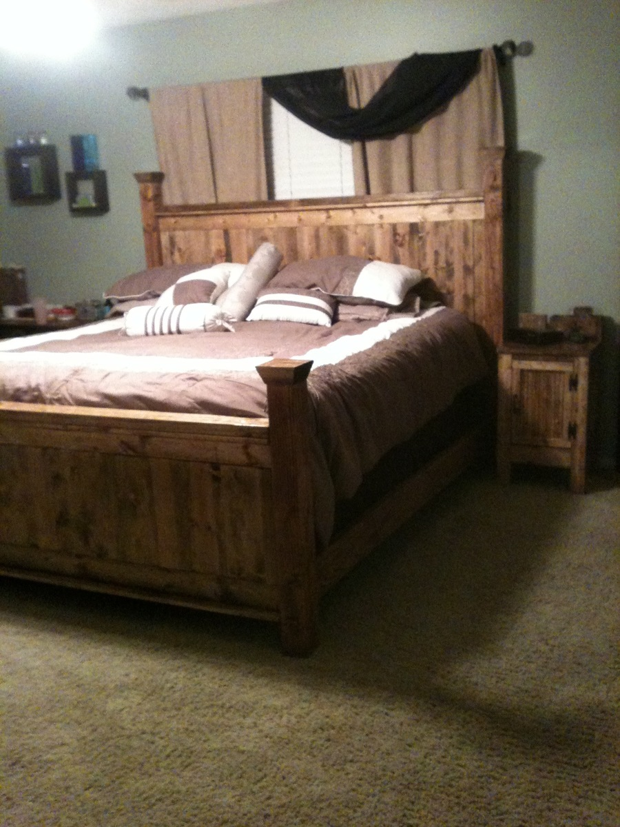 Farmhouse Futon Diy Farmhouse Bed King Diy Do It Your Self