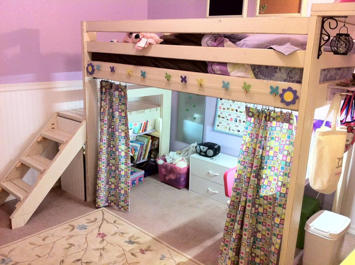 Studio Bed Ideas Ana White Art Studio Loft Bed Diy Projects