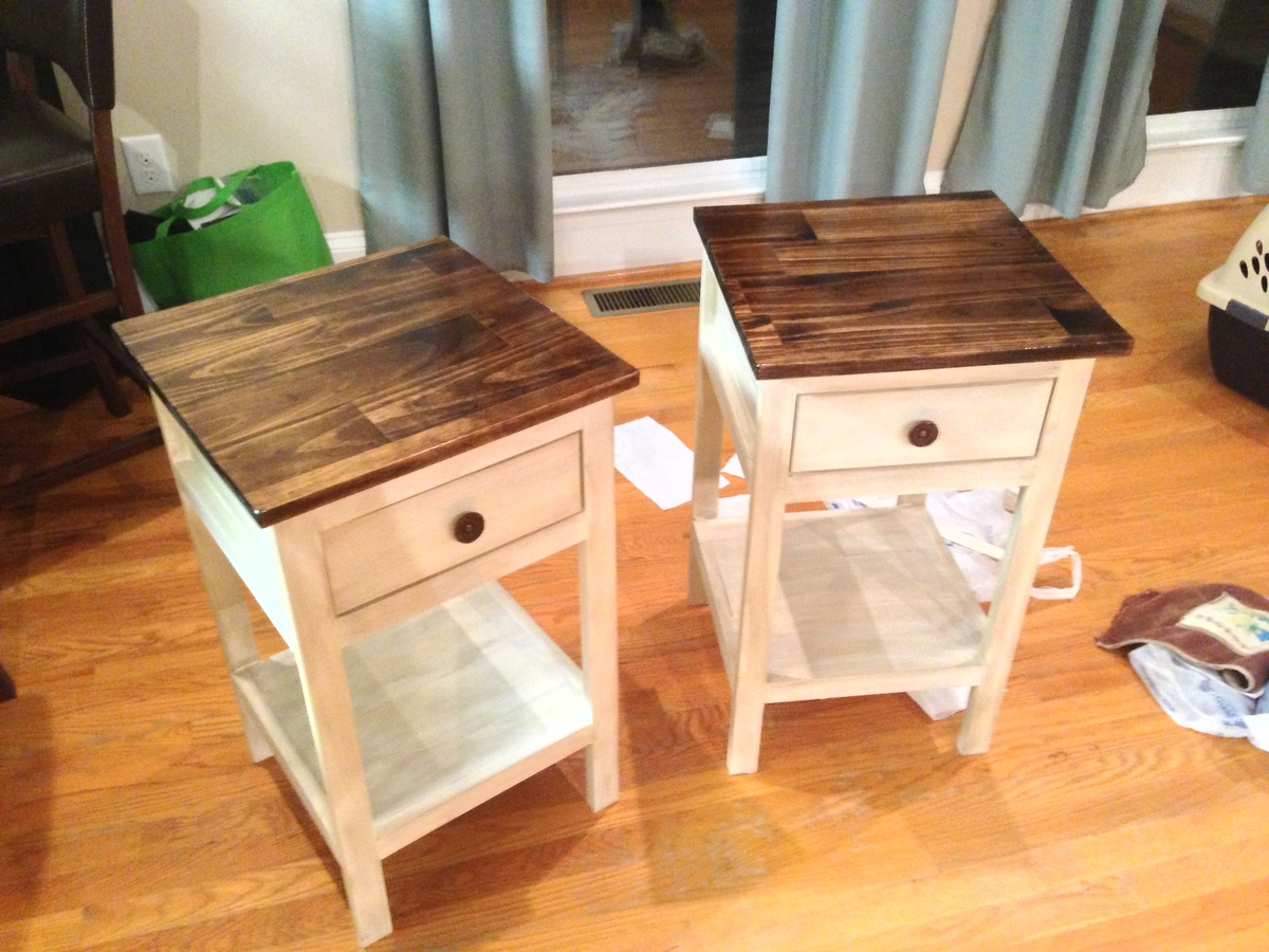 Diy Bedside Table Ana White Farmhouse Bedside Table Modern Coffee Tables