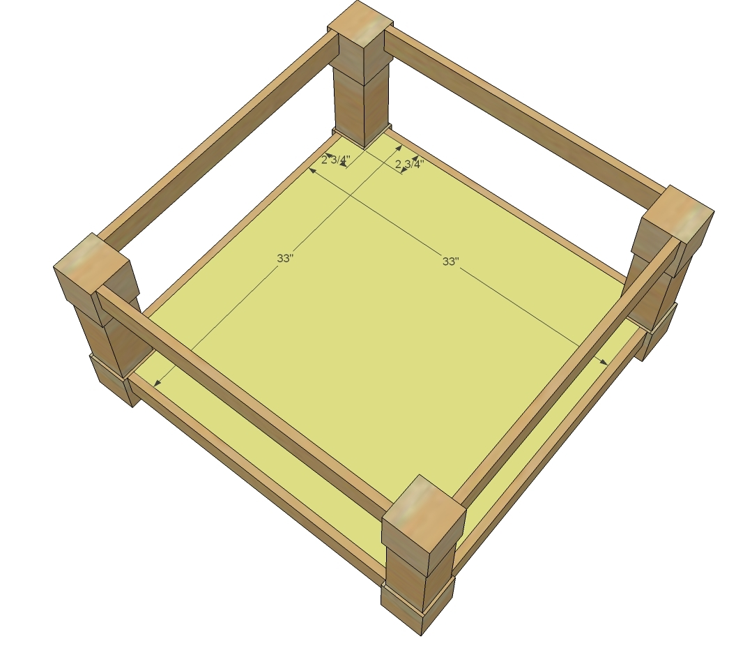 Square Coffee Table Plans Ana White Corona Coffee Table Square Diy Projects