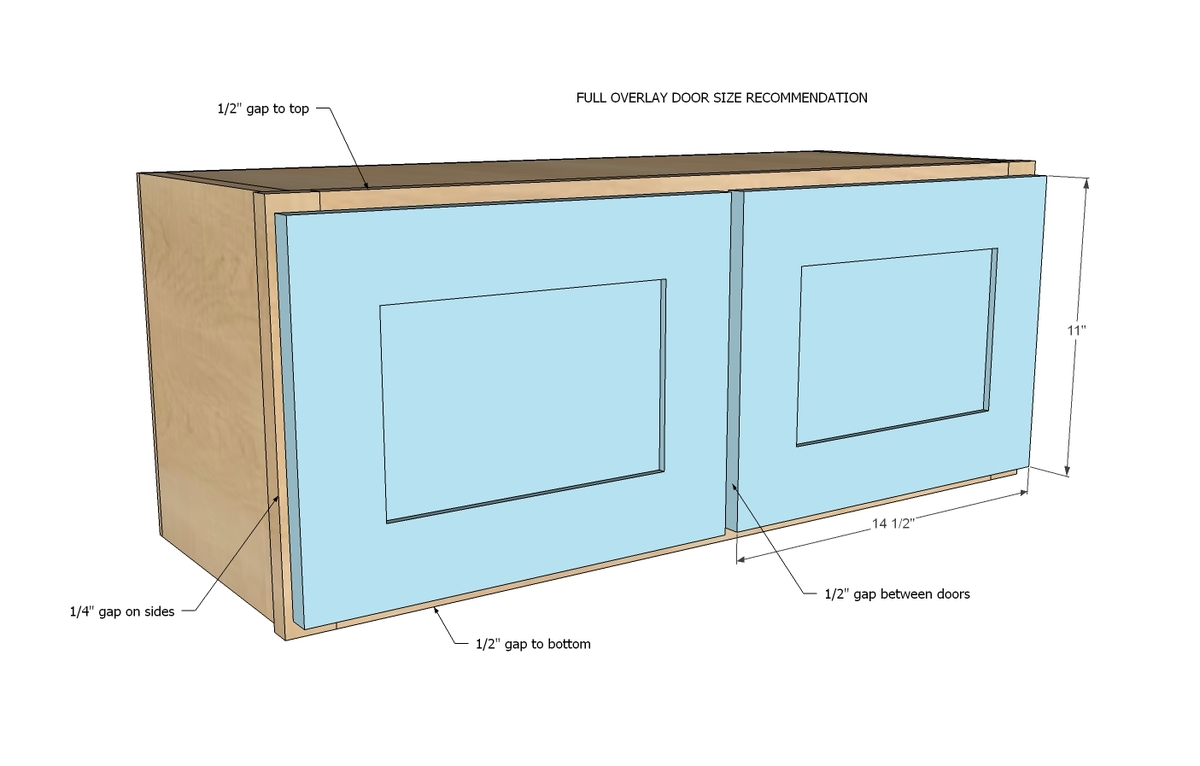 Kitchen Cabinets Face Frame Dimensions Ana White 30 Quot X 12 Quot Above Range Wall Cabinet Momplex