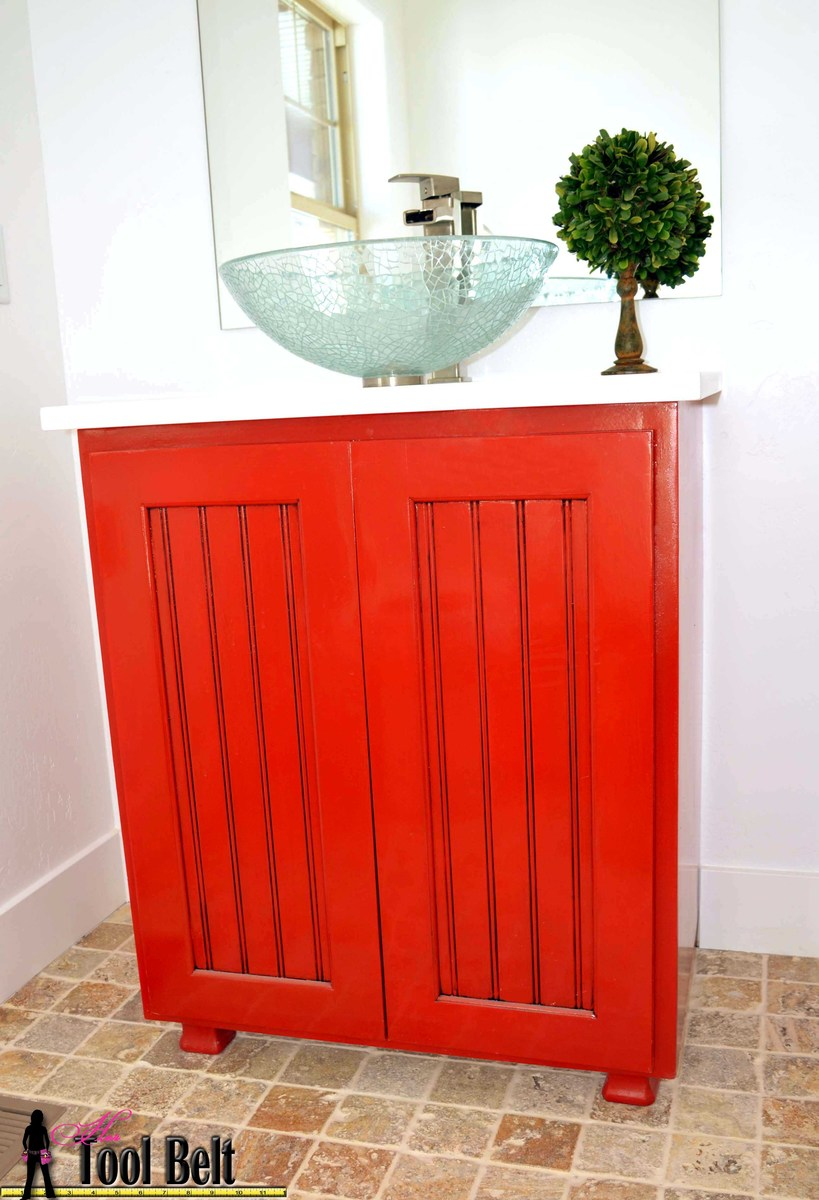 How To Make A Bathroom Vanity Cabinet Ana White Vanity Sink Cabinet Plan Diy Projects