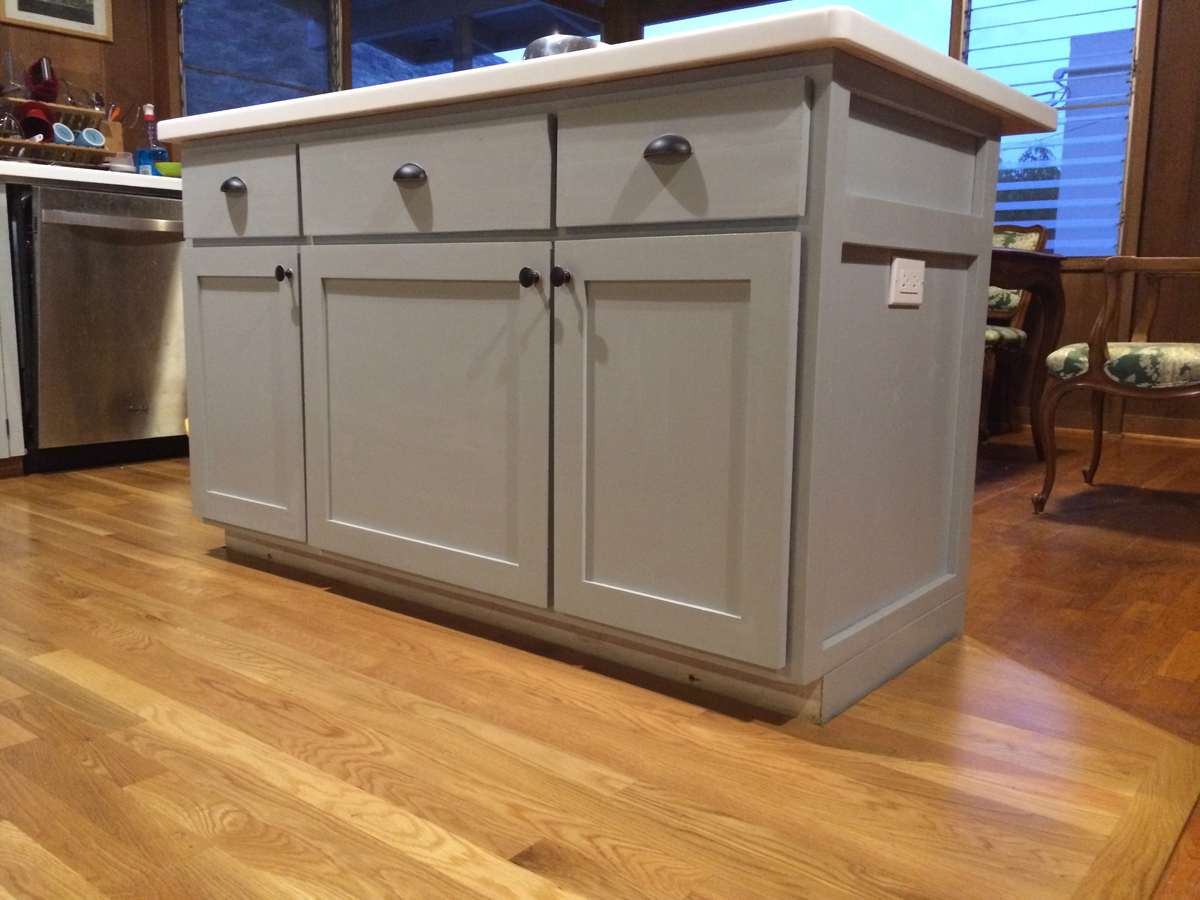 Kitchen Plans Ana White Kitchen Island Diy Projects