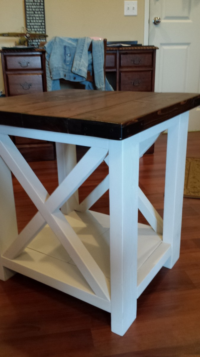 Diy End Tables Plans Ana White Rustic X Coffee And End Table Diy Projects